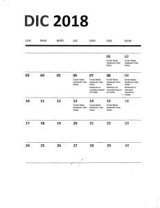 Program Dic 2018