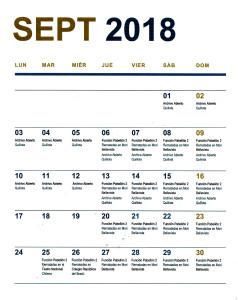 Program Sept 2018