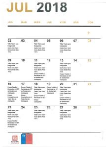Programa julio